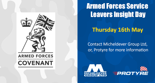 Protyre proud to be signing the Armed Forces covenant
