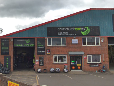 Christchurch Garage Wilverley Road Tyres Exhausts Batteries