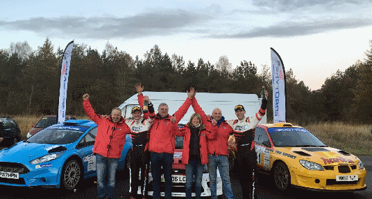 Pritchard takes maximum points on the Ford Parts Cheviot Stages Rally to become 2018 Protyre MSA Asphalt Rally Champion
