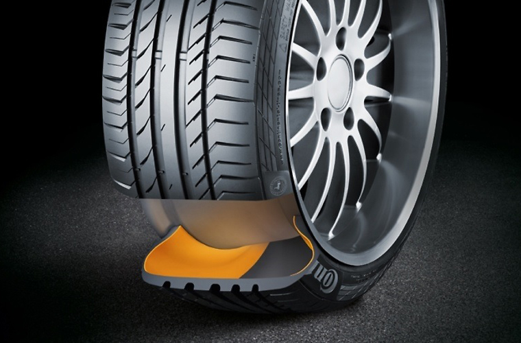 all you need to know about continental s ssr run flat tyres. Black Bedroom Furniture Sets. Home Design Ideas