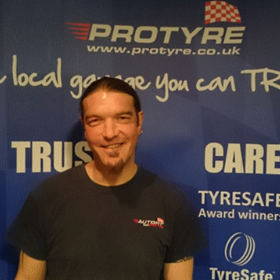 Jason Patch protyre garage manager
