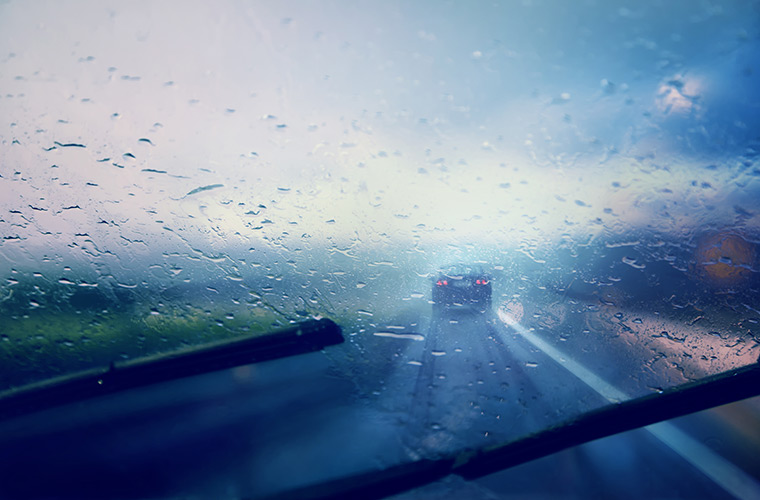Knowing how to reduce your stopping distances in wet conditions could save your life