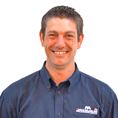 Chris Perry protyre garage manager