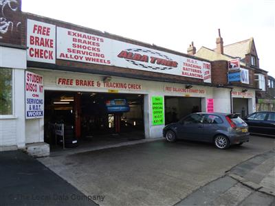 Alba Tyres Mot Amp Servicing Garage In Headingley Leeds