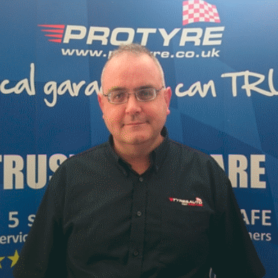 Nick Ripley protyre garage manager