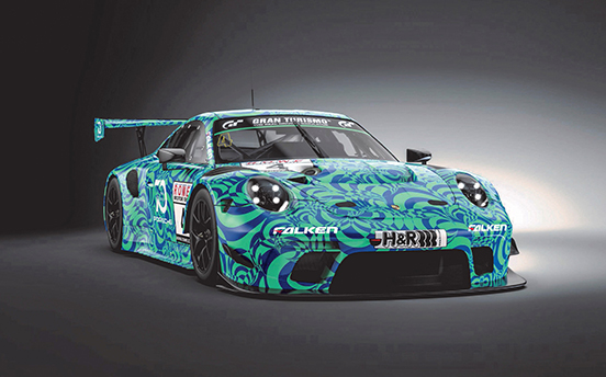 Falken continues in the fast lane