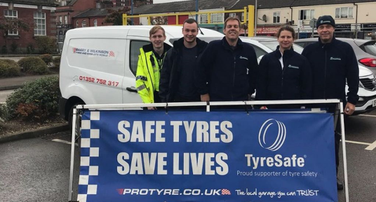 Busy start to TyreSafe month for Protyre