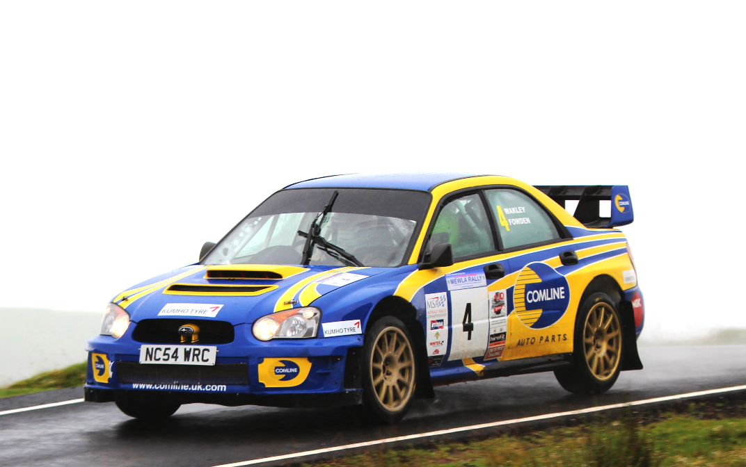 Fowden aiming for the 2018 Protyre MSA Asphalt Rally Championship title to mark 40 years of rallying