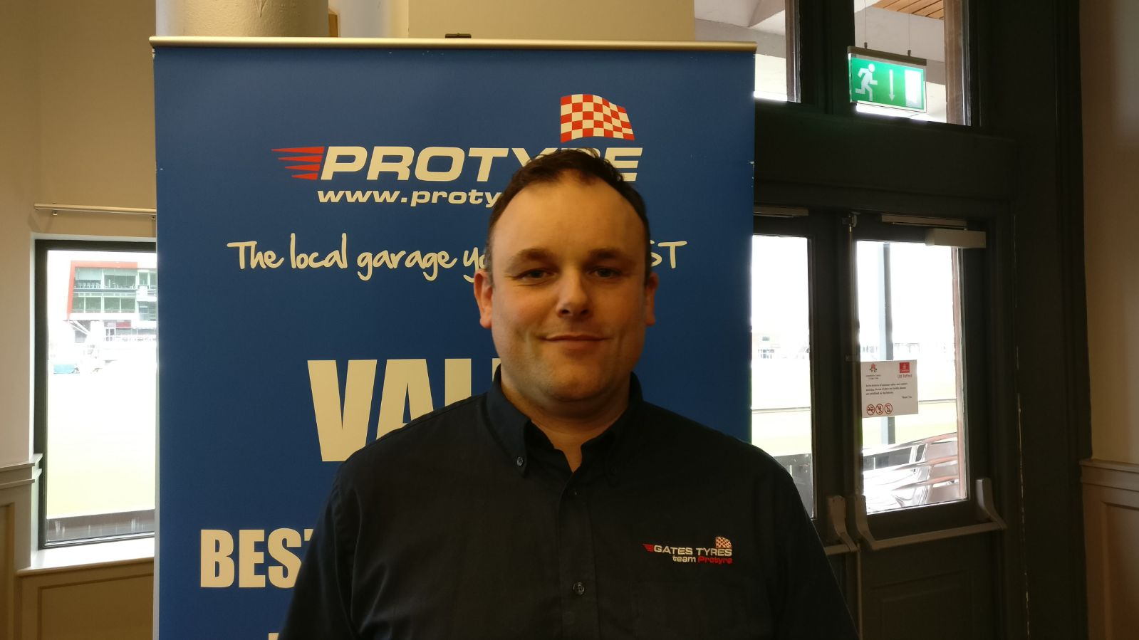 Michael Thompson protyre garage manager