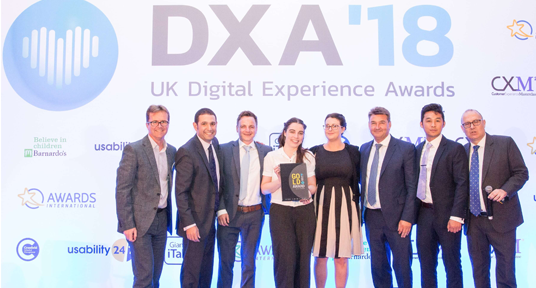 Protyre strengthen their online identity by taking three awards at the 2018 UK DX Awards