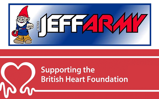 What do BTCC Fanatics and Charity have in Common?