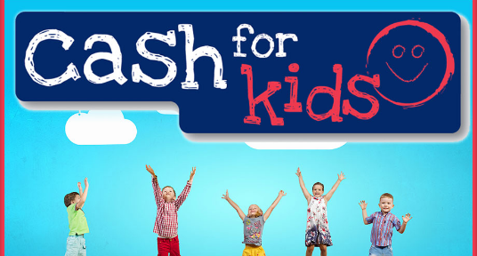 Fundraising for Cash for Kids charity