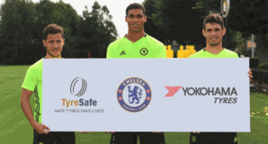 Chelsea FC becomes TyreSafe's latest signing