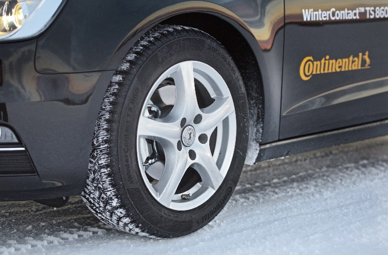 When it comes to wet and cold braking, there's one way to get to grips with stopping distances
