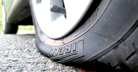 Struggling to inflate your tyre, then you may have a flat | Protyre