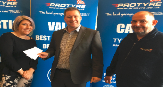 Protyre prizes reward customers following Bridgestone promotion