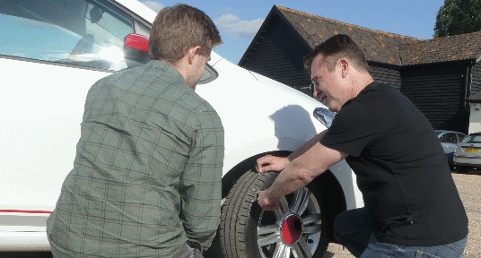 Students encouraged to study their tyres before travelling to university