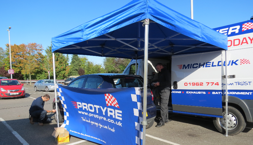 Protyre's 300,000 safety check goal